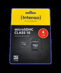 INTENSO MICRO SDHC 4GB SPEICHERKARTE